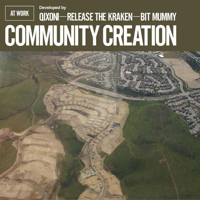 At Work - Community Creation